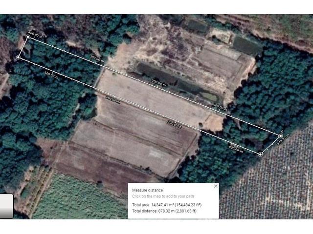 9 rai of land close to Buriram Airport