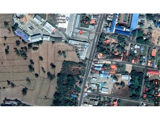 4 Plus Rai of Land  in Thatum, Surin