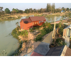 Buriram Fishing Park with 22 rai and resort