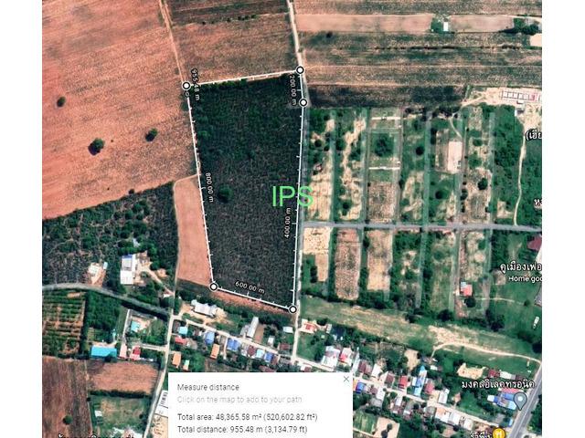 30 rai of Land Nong Khaman, Buriram will divide plots