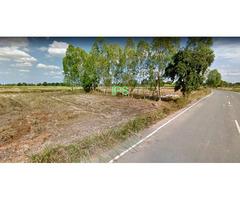 17 rai Land 4 km from Buriram